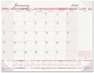 product image for HOD1467 - Recycled Breast Cancer Awareness Monthly Desk Pad Calendar