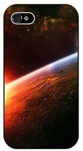 iPhone 5C Sunrise in space - black plastic case / Space, Stars, Fantasy