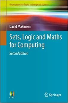 ?READ? Sets, Logic And Maths For Computing (Undergraduate Topics In Computer Science). music batalla alcance siglas pequenas Order