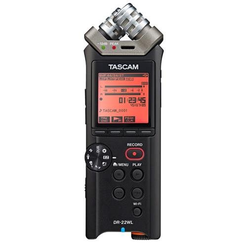 Professional Set Drum Usb (Tascam DR-22WL Portable Handheld Recorder with WiFi)