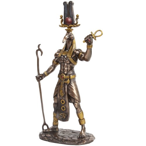 11 Inch Egyptian Thoth Mythological God Resin Statue Figurine