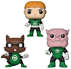 Funko Pop! Heroes Ch'p, Guy Gardner, & Kilowog 3-Pack Green Lantern Exclusive DC Legion of Collectors