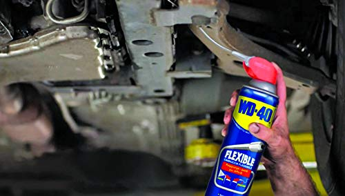 WD-40 Original Flexible Metal Straw Penetrant Spray – Multi-purpose Oil & Lubricant Spray – Cleans Grease, Removes Rust…