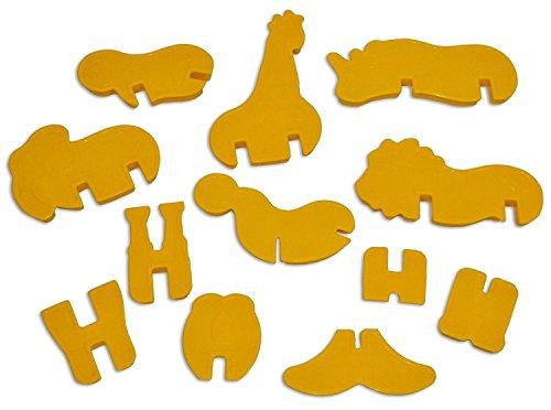 plastic animal cookie cutter set - 8