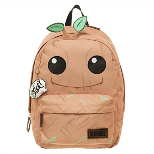[Guardians of the Galaxy Vol. 2 - Groot Big Face Backpack 13 x 17in] (Groot Costume Uk)