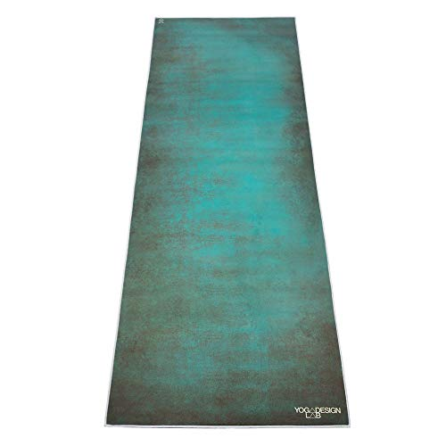 Tribeca Love Hot Yoga Towel. Eco-Friendly, Lightweight, Insanely Absorbent, Non-Slip, Microfiber, Dries in Minutes. Ideal for Bikram, Hot Yoga/Pilates. Machine Washable. Printed w/Water Based Inks.