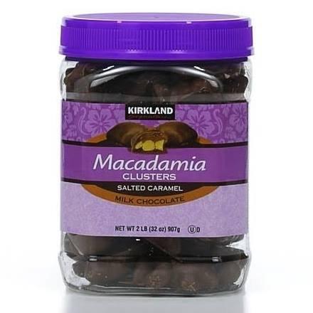 (4x Kirkland Signature Macadamia Clusters - 32 Oz. - (8 Lbs.))