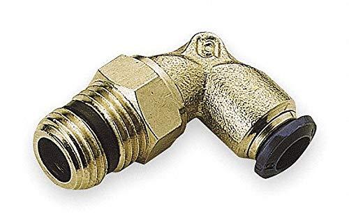 AIGNEP USA 88110-06-02 Swivel Male Elbow, 3/8'' Tube x 1/8'' NPTF Thread (Nickel Plated Brass)