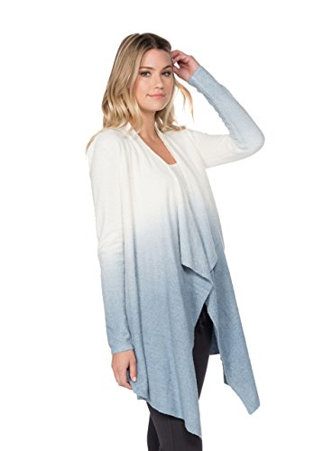 BAREFOOT DREAMS BAMBOO CHIC LITE HEATHERED CALYPSO WRAP