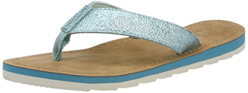 Femme Vert 27150 oliver S turquoise Tongs zxnqC1Pnwp