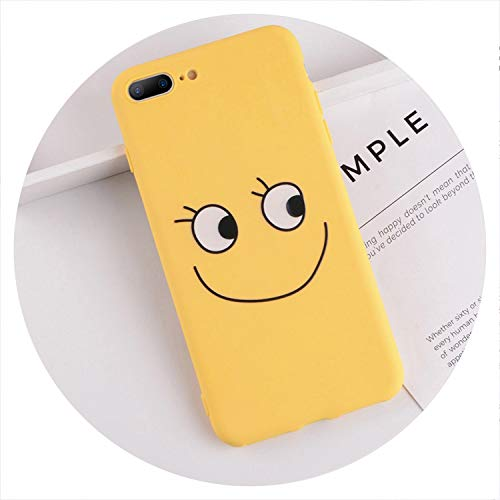The rest of my life Phone Case for iPhone 6 6s 7 8 Plus X XR XS Max Cute Cartoon Letter Deer Smiley Face Soft TPU for iPhone 5 5S SE Cover,T16,for iPhone Xs Max - T16 Series