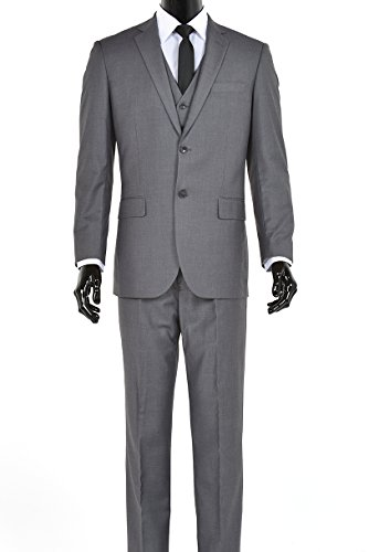 Italian Wool 2 Piece Suit - 6
