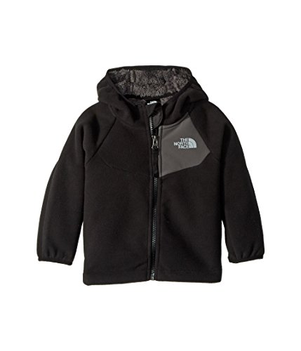Face Hooded Fleece - The North Face Infant Chimborazo Hoodie - TNF Black & Graphite Grey - 24M