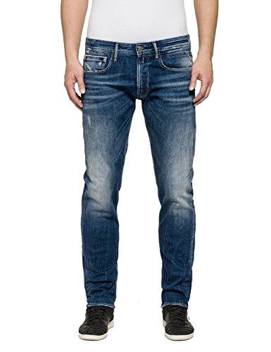 Replay Ronas, Jeans Uomo Blu (blue Denim)