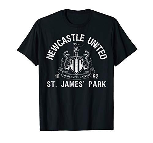 (Newcastle United St James Park T-shirt Black)