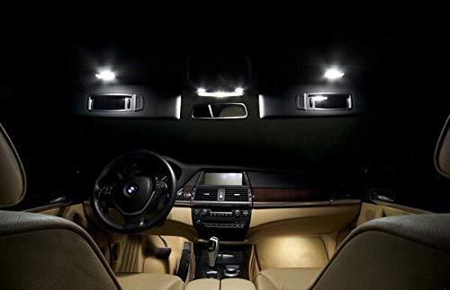 Pack FULL LED int/érieur pour X6 E71 Kit ampoules blanc pur