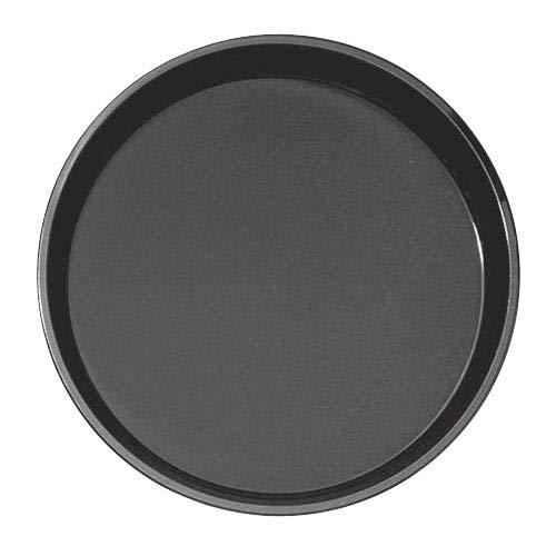 (Cambro Manufacturing PT1400110 Polytread Tray Round Black 14'' (1 EACH))