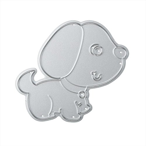 Anboo Animal Stencil Cutting Dies For Scrapbooking Embossing DIY Album Paper Card Craft Gift (A)