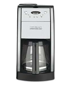 Conair Cuisinart DGB-550BK 12 Cup Automatic Coffeemaker Grind