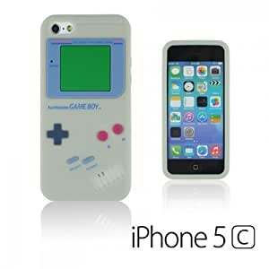 Diy For SamSung Galaxy S4 Mini Case Cover Gameboy Style Silicone Skin Cover Shell - Grey