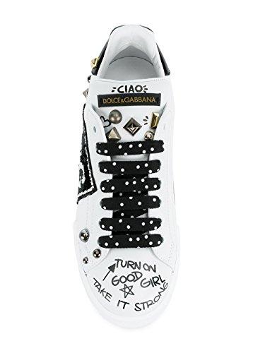 Dolce E Gabbana - Zapatillas Para Mujer Weiß It - Marke Größe