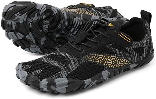 WHITIN Mens Minimalist Trail Runner Wide Toe Box Barefoot Inspired