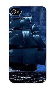 High Quality Tpu Case/ Pirate Ships LcSkDvI3909RpvaM Case Cover For Iphone 5/5s For New Year's Day's Gift