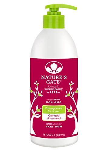 (Nature's Gate Pomegranate Sunflower Defends and Nourishes Dry Skin Paraben Free, 18 Ounce)