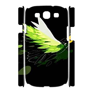 3D Okaycosama Funny Samsung Galaxy S3 Case Beautiful Designs for Teen Girls Protective, Samsung Galaxy S 3 Cases Guys, [White]