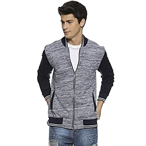 Campus Sutra Full Sleeve Solid Men Jacket Men\'s Jackets