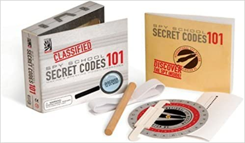 Book Secret Codes 101 (Spy School)