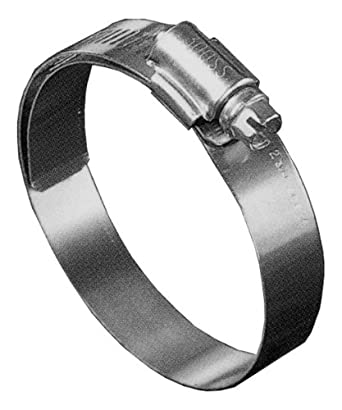 2-13//16-3-3//4 Precision Brand B52HL Shielded//Lined Worm Gear Hose Clamp Pack of 10