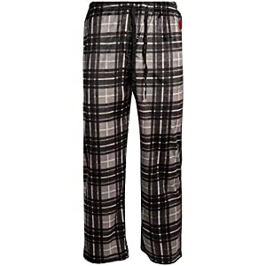 U.S. Polo Assn. Men's Ultra Soft Fleece Plaid Pajama Lounge Pants
