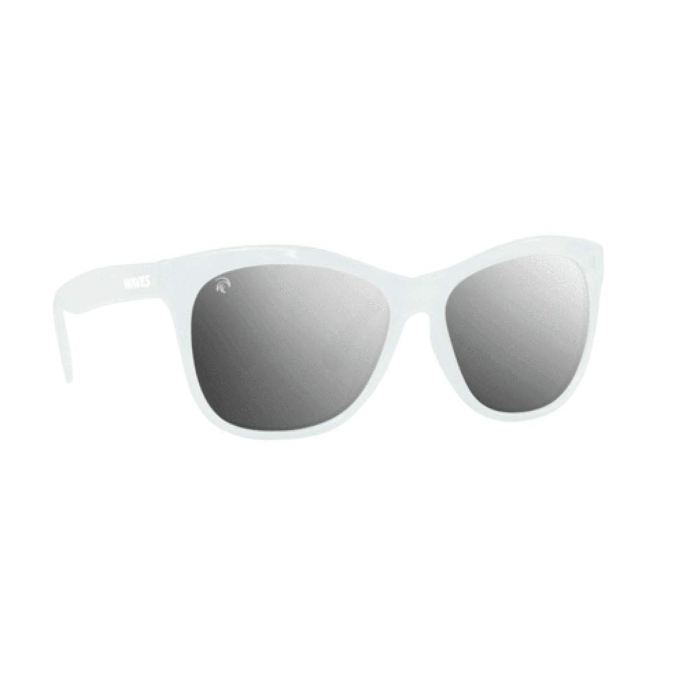 Waves Polarized Cat-Eye Floating Sunglasses: Un-Sinkable Plastic Glasses for Fishing, Beach Volleyball, Boating, Sailing, Swimming, Paddle Boarding and More by Waves Gear