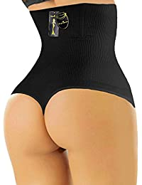 102 - Women Waist Cincher Girdle Tummy Slimmer Sexy Thong Panty Shapewear