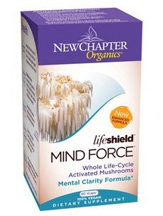 New Chapter LifeShield Mind Force 60 vcaps ( Multi-Pack)
