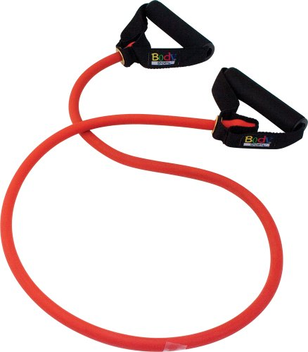 Body Sport Studio Series Heavy Resistance Tube, Red by Body Sport