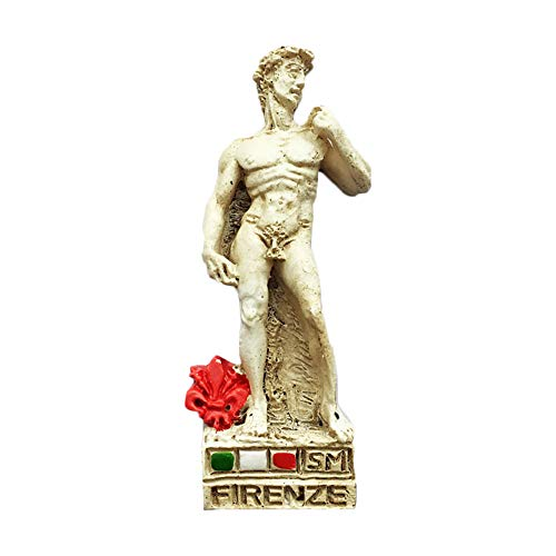 Firenze Italy 3D David Statue Refrigerator Magnet Travel Sticker Souvenirs Home & Kitchen Decoration Italy Fridge Magnet from China