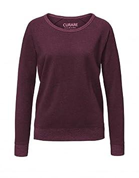 CURARE Yoga Wear complementarse # 238 Cuello Redondo Sweater ...