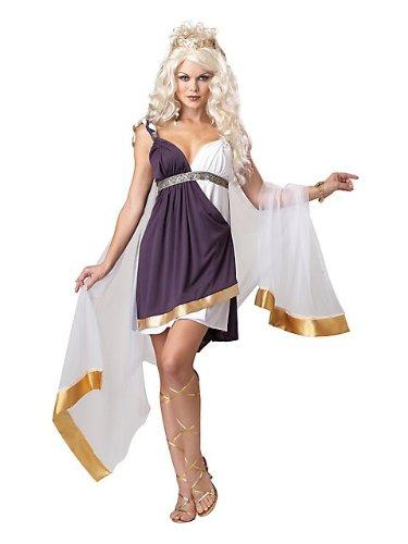 Venus Goddess Of Love Costume Womens (California Costumes Women's Venus Goddess Of Love Adult, Purple/White, Small)