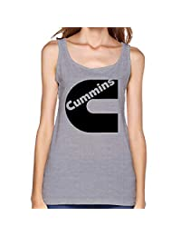 Ocido Black Cummins Classic Tank Tops for Girls Gray
