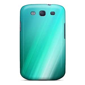 Fashion Tpu Case For Galaxy S3- Abstract Aqua Defender Case Cover by lolosakes