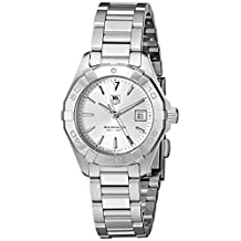 Tag Heuer Women's WAY1411.BA0920 Analog Display Quartz Silver Watch