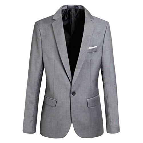 Mode Moderne Blazers Veste Grau Manteau Costume Pour The Fit Hommes Tops Décontracté De Casual CvXSqXwn