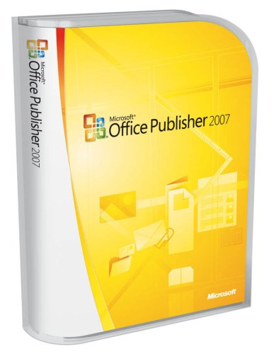 Microsoft Publisher 2007 Old Version product image