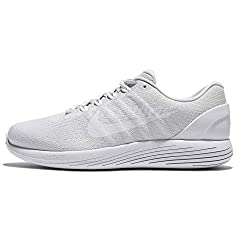 Nike Lunarglide 9 Pure Platinumwhitewhite Womens Running Shoes