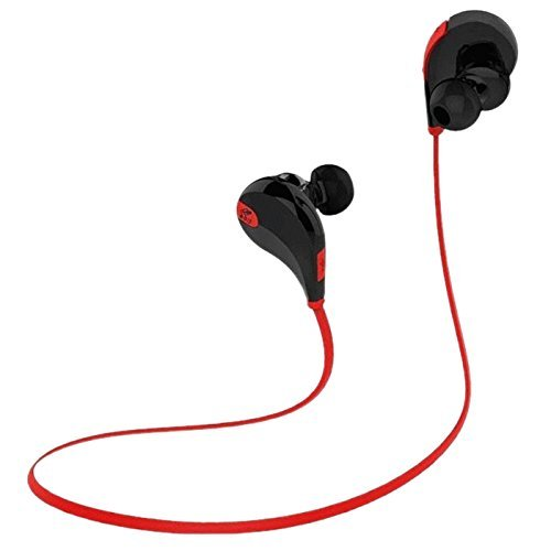 TOOGOO Mini Lightweight Wireless Stereo Sports Headphone Blu