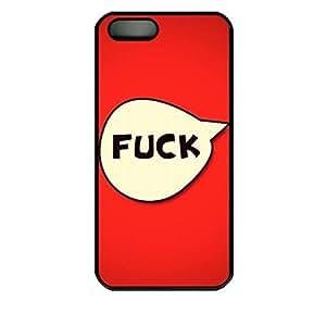 Online Designs hi my sweetie 2D PC Hard new Black iphone 5 case for men