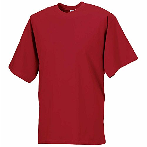 Russell Children's T-Shirt Classic Red