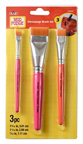 "Mod Podge 24781 Furniture Brush Set (2"" & 3-Inch), One Each"
